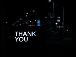 תמונת רקע עם כיתוב תודה